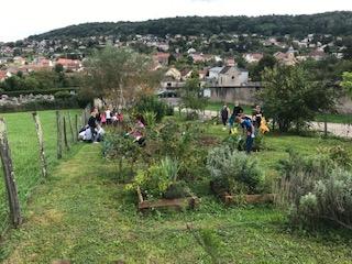 La rentrée au jardin pour les enfants